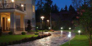освещение загородного домаосвещение загородного дома