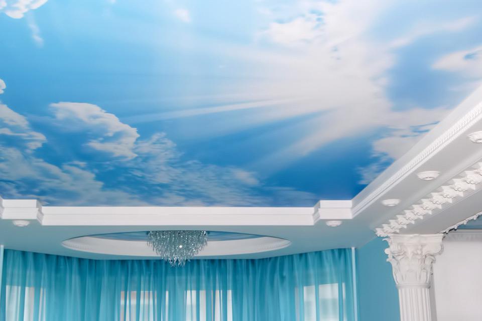 потолок небо